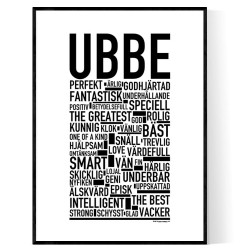 Ubbe Poster