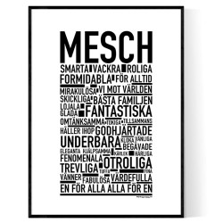 Mesch Poster