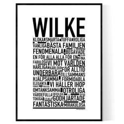 Wilke Poster