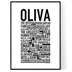 Oliva Poster