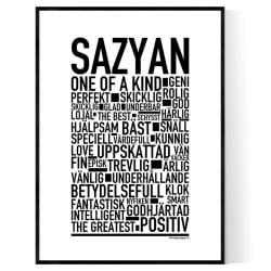 Sazyan Poster