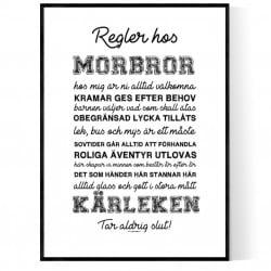 Morbrors Regler Poster
