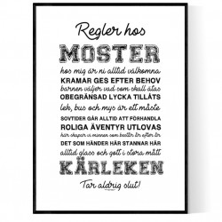 Mosters Regler Poster