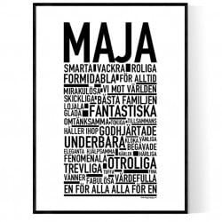 Maja Version 2 Poster