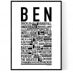 Ben Poster