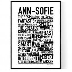 Ann-Sofie Poster