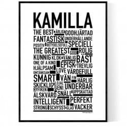 Kamilla Poster