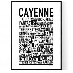 Cayenne Poster