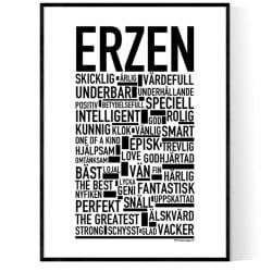 Erzen Poster