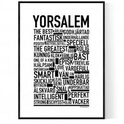 Yorsalem Poster
