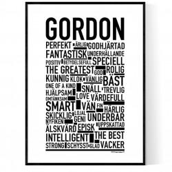Gordon Poster