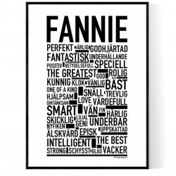 Fannie Poster