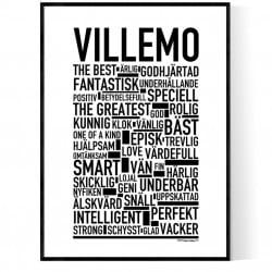 Villemo Poster