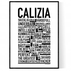 Calizia Poster