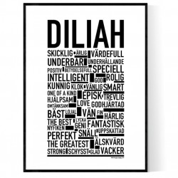 Diliah Poster