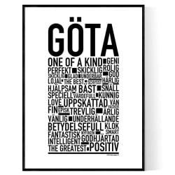 Göta Poster