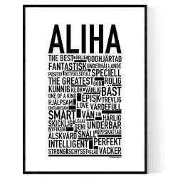 Aliha Poster
