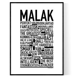 Malak Poster