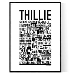 Thillie Poster