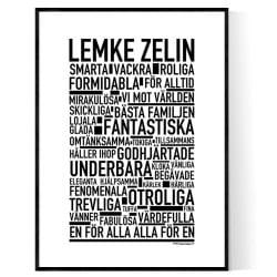 Lemke Zelin Poster