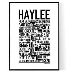 Haylee Poster