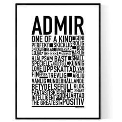Admir Poster
