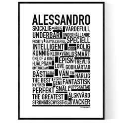 Alessandro Poster