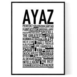 Ayaz Poster