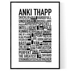 Anki Thapp Poster