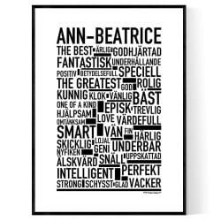Ann-Beatrice Poster