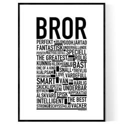 Bror Poster