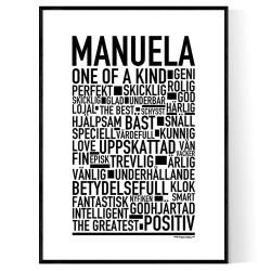 Manuela Poster