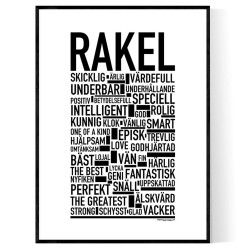 Rakel Poster