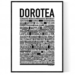Dorotea Poster