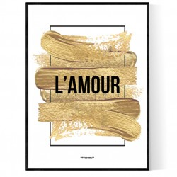 Golden L'Amour Poster