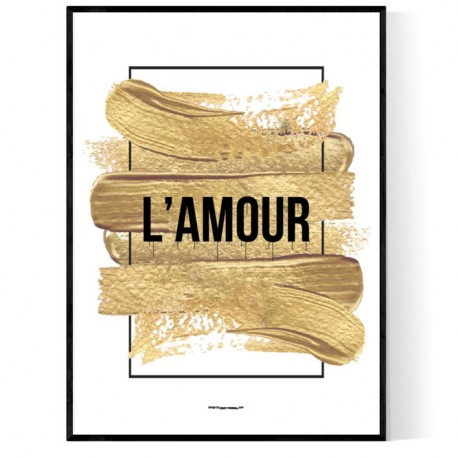 Golden L'Amour Poster