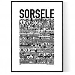 Sorsele Poster