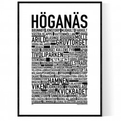 Höganäs Poster