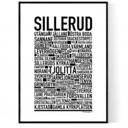 Sillerud Poster