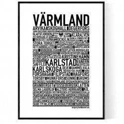 Värmland Poster
