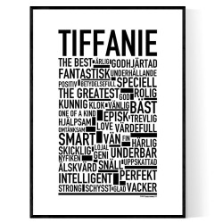 Tiffanie Poster