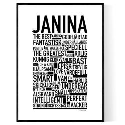 Janina Poster