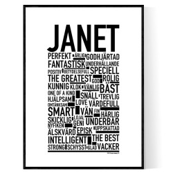 Janet Poster