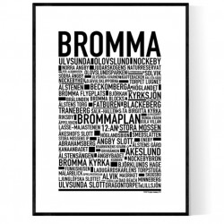Bromma Poster