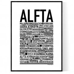 Alfta Poster