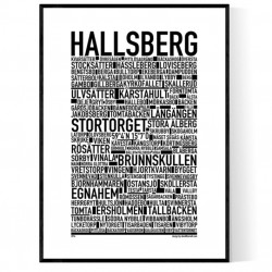 Hallsberg Poster