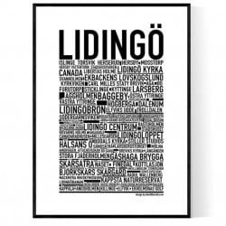 Lidingö Poster
