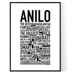 Anilo Poster