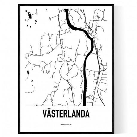 Västerlanda Karta