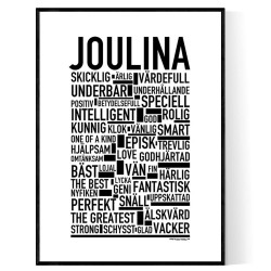 Joulina Poster